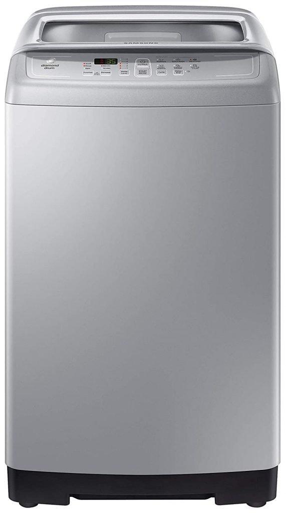 Samsung 6.5 Kg Fully-Automatic Top Loading Washing Machine (WA65A4002VS/TL)