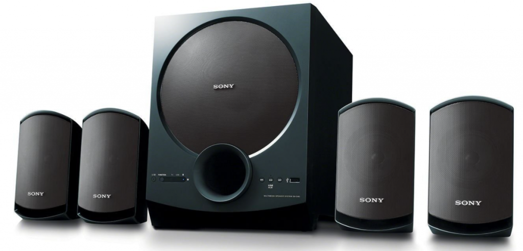 Sony-SA-D40-4.1-Channel-Multimedia-Speaker-System-with-Bluetooth